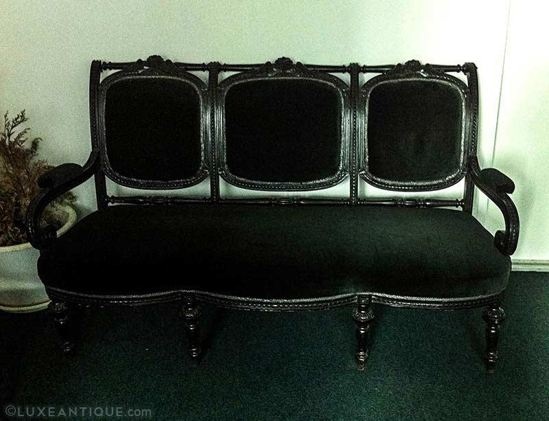 black-green-antique-furniture-set-19th-century
